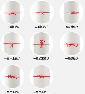 紐の結び種類