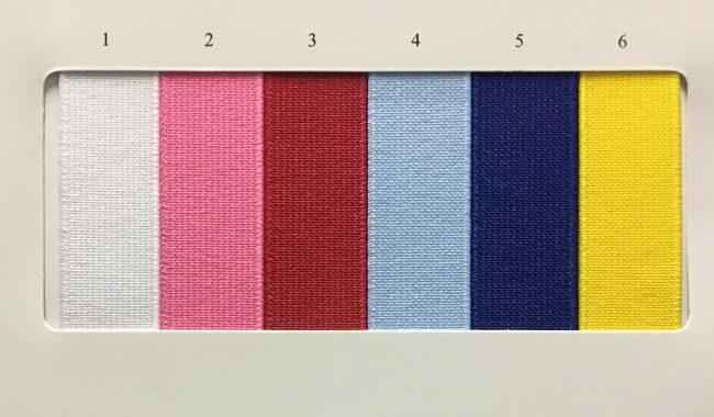 カラー平ゴム1